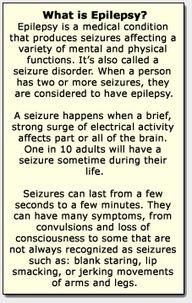 Basics on epilepsy.