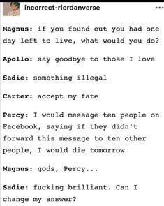 Percy Jackson Characters, Percy Jackson Fan Art, Percy Jackson Memes, Percy Jackson Books, Percy Jackson Fandom, Rick Riordan Series, Rick Riordan Books, Stupid Funny Memes, Funny Quotes