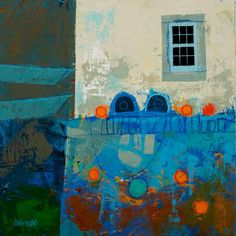 "George Birrell b.1950.- ""Two Lobster Pots"" 2015. Mixed media. 