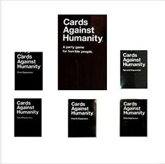 Card Against Humanity Complete Bundle Set Base Set Plus 1st 2nd 3rd 4th 5th Expansion Packs New CAH http://www.amazon.com/dp/B00OPN5I6Y/ref=cm_sw_r_pi_dp_B-pzub0M7W5K9