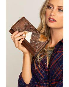 603e92be827 Shyanne Women s Calf Hair Patchwork Wallet Wristlet