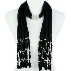Pendant scarf from Marsha's Boutique