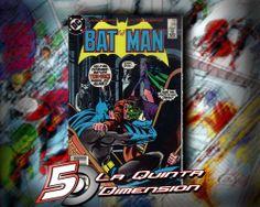 BATMAN # 398  COMIC DEL AÑO 1986, BATMAN VS TWO-FACES Y CATWOMAN. DIBUJO DE TOM MANDRAKE.  $ 80.00  Para más información, contáctanos en http://www.facebook.com/la5aDimension