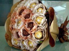 A bunch of Ferrero Rocher flower :)