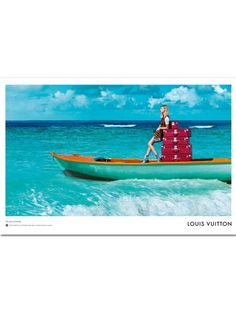 Julia Nobis voor Louis Vuitton Patrick Demarchelier schoot de nieuwe Spirit of Travel-campagne van Louis Vuitton.