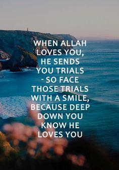 Allah loves you