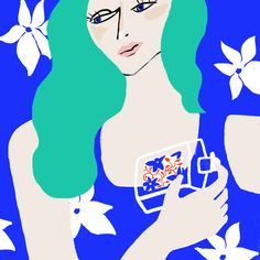 Woman with Perfume - fitza