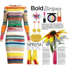 Bold Stripes & Spring Boots