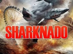 #SHARKNADO: Sharks, tornadoes, and Tara Reid. What more could you ask for? 2013's much awaited C-movie had even celebs like Mia Farrow, Olivia Wilde, and Elizabeth Banks waiting for its release. Tara Reid, American Pie, Streaming Movies, Hd Movies, Films, Ian Ziering, Making A Movie, Feeling Lost, Dvd Blu Ray