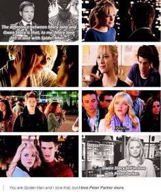 The Amazing Spider-Man, Peter Parker, Gwen Stacey
