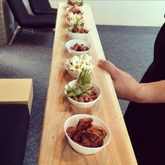 "Comment: agencetank said ""Portfolio Night Catering, délicieux! Merci Max Cuisine. Candied pretzels, Bacon teriyaki edamame and Parmesan Lime popcorn. #pn12 #portfolionight #food #eats #montreal #adagency"""
