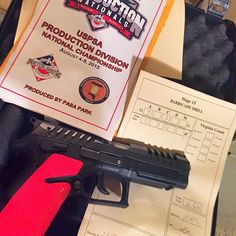 Just back from USPSA nationals.... The #grandpower ran great I did not.  A burst told me they are getting in a new shipment. Grab one for your self! @grand_power_company @tractiongrips @revteacherbob #pewpew @thegunlife