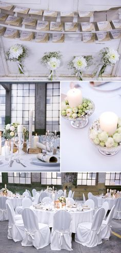 Christina und Ken's DIY-Hochzeitstraum von Laris.Sa/ Tischdeko