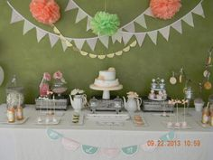 Shabby Chic Party #shabbychic #party