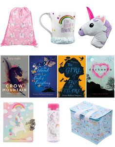With Love for Books: Chicken House Books & Unicorn Diary, Drawstring Ba...