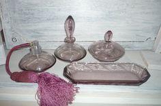 ♥Oma´s Flakons für die Frisierkommode♥ von      ♥♥♥Krewa steht für Kreativ-Werkstatt♥♥♥ auf DaWanda.com