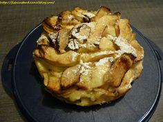 Gâteau léger aux pommes et citron