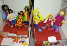 Dolls house characters - £7.99 per set.                         Gloucestershire Resource Centre http://www.grcltd.org/scrapstore/