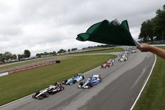 Live racing at Mid-Ohio Sports Car Course