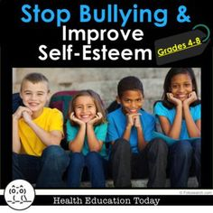 Stop Bullying and Improve Self-Esteem 11-Lesson Super Bundle for 4th-8th Graders! ★ Get these 11 impactful lessons to show your students how to stop bullying, support victims of bullying, and improve self-esteem!!
