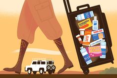 Staying Healthy While Traveling the Globe - The New York Times
