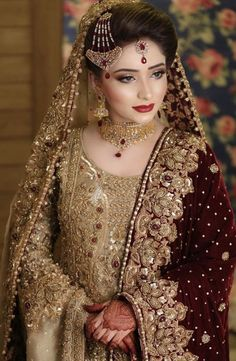 Latest bridal jewellery design Latest bridal jewellery design Jewellery design is the art or profession of designing and creating je. Asian Bridal Dresses, Bridal Mehndi Dresses, Pakistani Wedding Outfits, Indian Bridal Outfits, Bridal Dress Design, Pakistani Wedding Dresses, Pakistani Mehndi Dress, Walima Dress, Outfits
