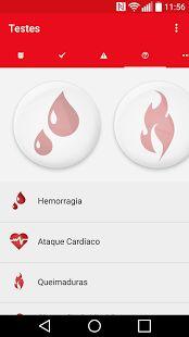 Primeiros Socorros Brasil: miniatura da captura de tela