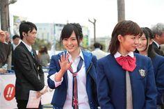 沖縄国際映画祭に登場したNMB48=沖縄県宜野湾市(提供写真) ▼22Mar2014サンスポ|レッドカーペットにNMBが! 獅童が! 沖縄史上最大の行進 http://www.sanspo.com/geino/news/20140322/oth14032212100016-n1.html #nmb48 #Okinawa_International_Movie_Festival #Okinawa #Ginowan #Sayaka_Yamamoto #Miyuki_Watanabe