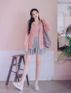 milkcocoa Korean Fashion Dress, Fashion Dresses, Face Angles, Backdrop Ideas, Body Poses, Drawing Clothes, Korean Style, Pretty Outfits, Asian Beauty
