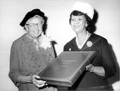 Eleanor Roosevelt and Dorothy Height