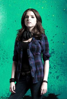 Anna Kendrick as Beca in Pitch Perfect - Love her style, charisma & voice.
