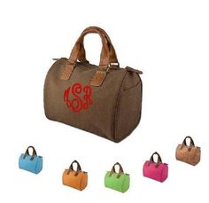 Leather monogrammed purse.  Bunch of cute stuff on the site