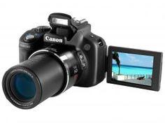 Câmera Digital Canon PowerShot SX50 HS 12.1MP - Filma em Full HD Zoom Óptico 50x