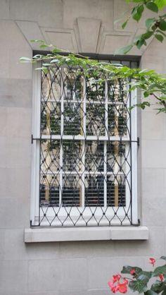 Window Grates Nyc, Outdoor Structures, Windows, Window, New York City, Ramen