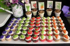 Garden of cupcakes!
