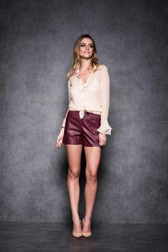 Camisa Sweet e Shorts Queen