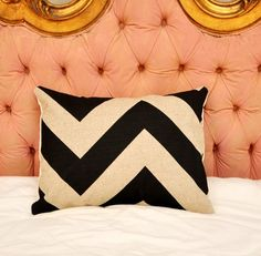 Zig Zag Stripe pillow- $10.95 on etsy