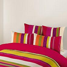 Buy John Lewis Azuki Bedding, Pink Online at johnlewis.com