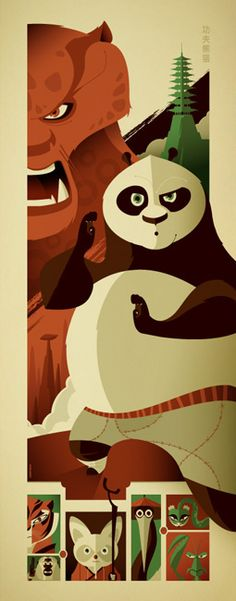 Os incríveis posters vetorizados de Tom Whalen - Choco la Design | Choco la Design