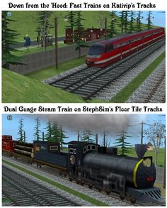 58 Best Sims 2 - Railroads/Trains CC images in 2018 | Sims, Sims 2