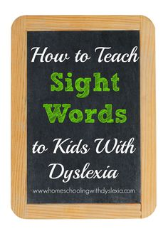 How to Teach Your Child to Read - Once I began this method, my dyslexic son not only learned his sight words easily, he enjoyed learning them as well! Give Your Child a Head Start, and.Pave the Way for a Bright, Successful Future. Dyslexia Activities, Dyslexia Strategies, Dyslexia Teaching, Learning Disabilities, Teaching Kids, Teaching Biology, Reading Activities, Stem Activities, Reading Games