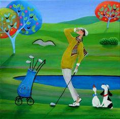 "Saatchi Art Artist Iwona Lifsches; Painting, ""Shot Trackers, SOLD"" #art"