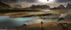 21 cool Prometheus concept pics of temple, engineer ship and medpod