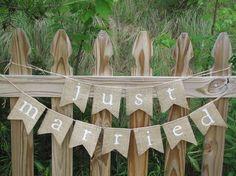 romatic rustic wedding banner