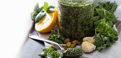 Clean Green Kale Pesto - Tosca Reno