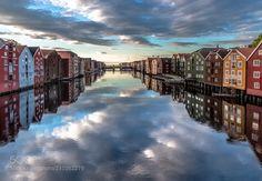 Trondheim Nidelva Norway
