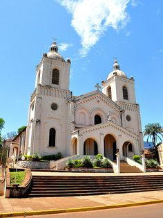 Encarnación,Itapúa, ParaguayChristianity - predominately Catholicism - is by far the most popular religion in Paraguay with around 97 percent of people identifying with it.