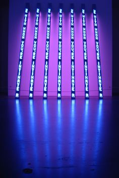 i could spend countless hours in a jenny holzer room...