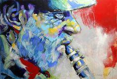 "Saatchi Art Artist Michaela Steinacher; Painting, ""storyteller"" #art"