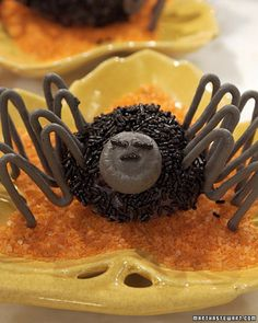 spider cakes - Cassadaga Halloween